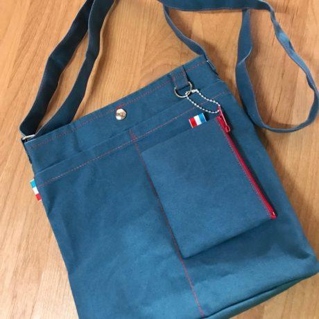 4-お散歩BAG(79号帆布・パラフィン加工)